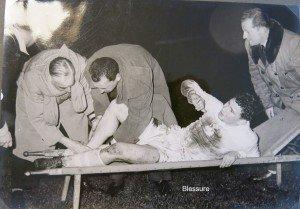 BLESSURE JANVIER 1948
